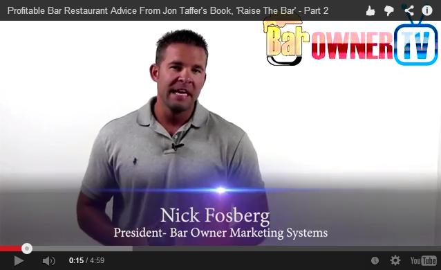 Nick Fosberg Jon Taffer Raise the Bar Review