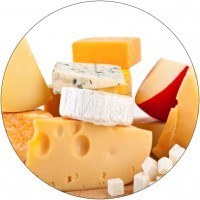 Image of lots of Different Cheese's