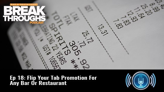 Flip Your Tab Promotion For Any Bar Or Restaurant