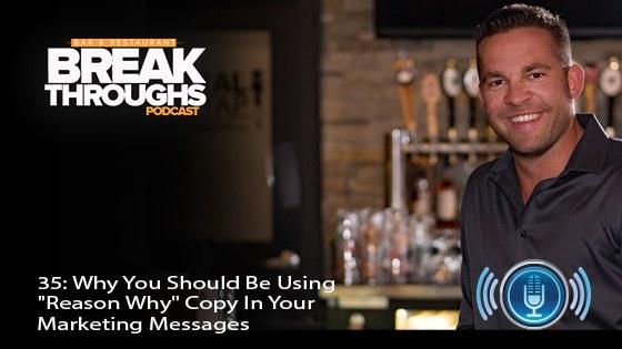 Bar restaurant marketing